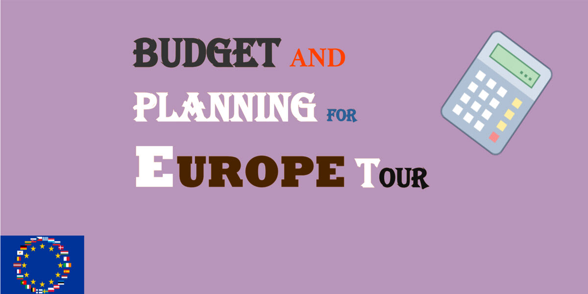 how to budget for europe trip