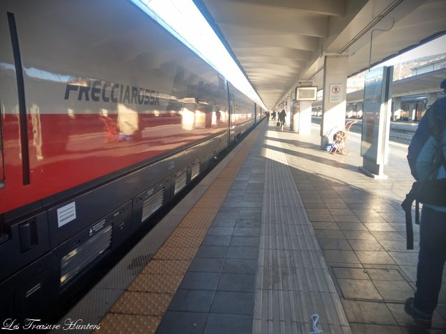 High speed train of italy