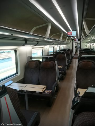 Inside italian highspeed rail