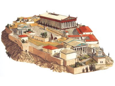 what acropolis used to look like?