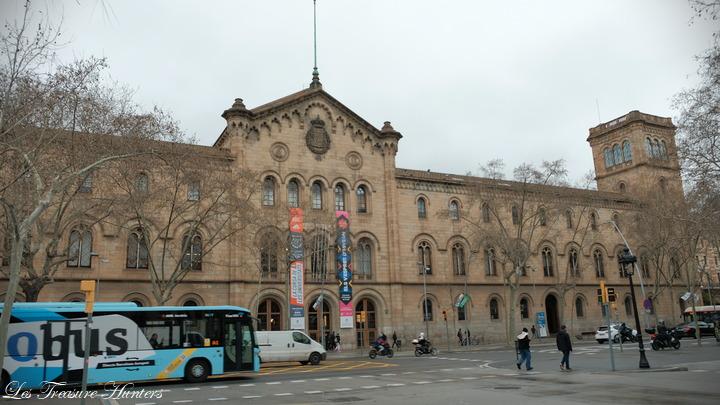 Visit univercity of Barcelona