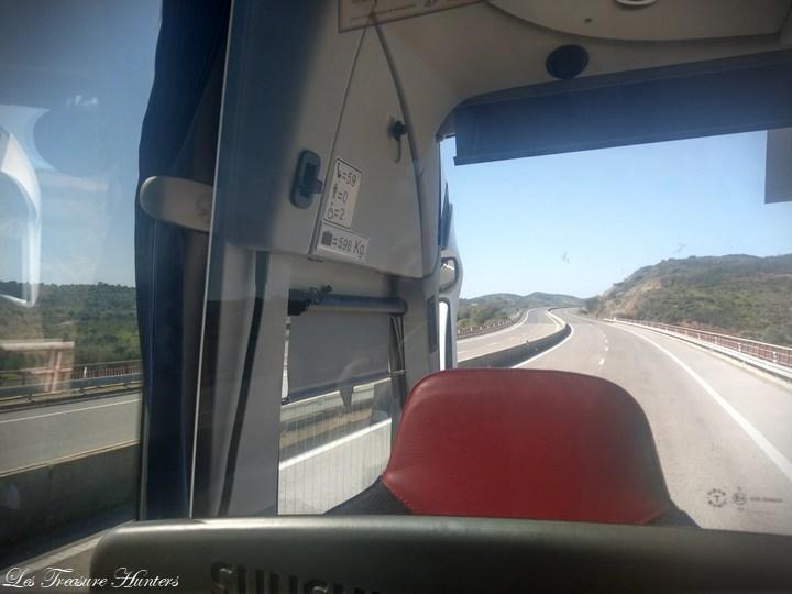 Espagne à portugal par bus