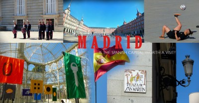 travel in madrid.