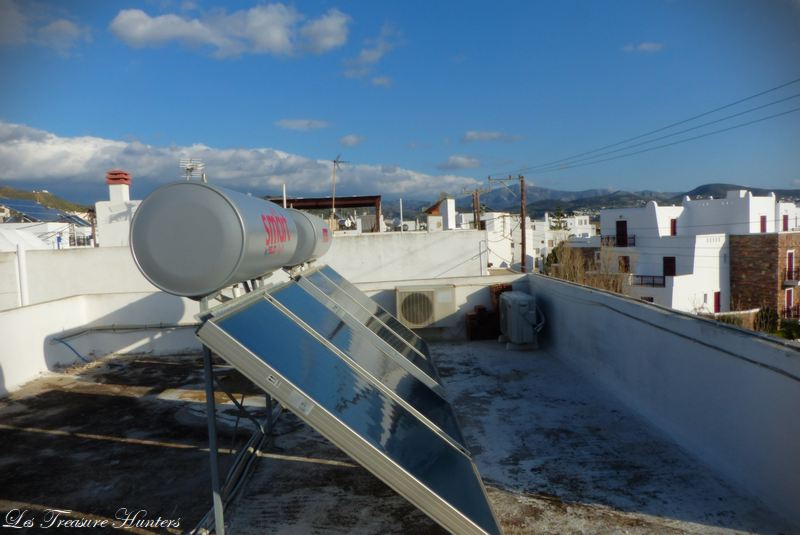 Solar power in greece