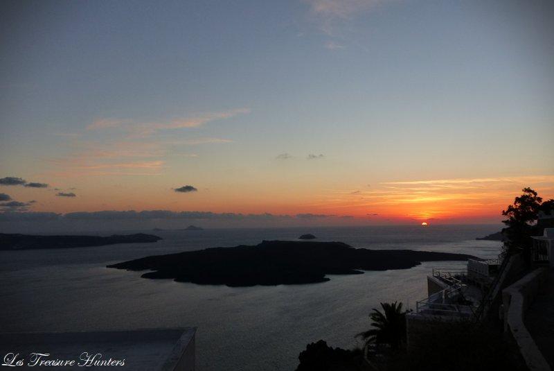 The Sunset of Santorini