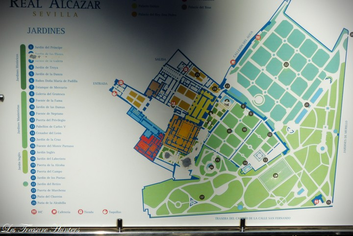 Map of Alcazar