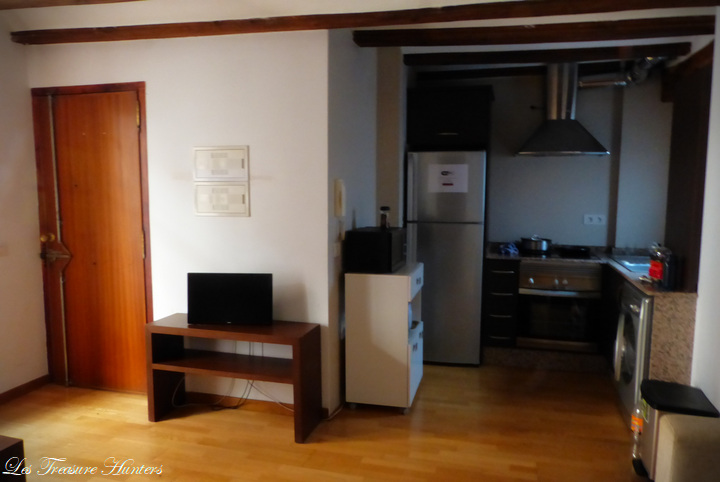 hotel apartment a valence, espagne