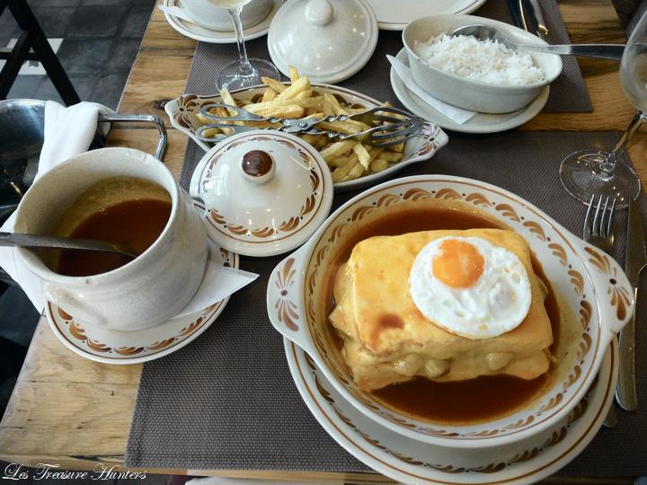 Classic portuguese food