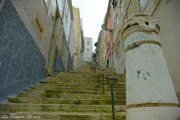 Stairs in Portugal.
