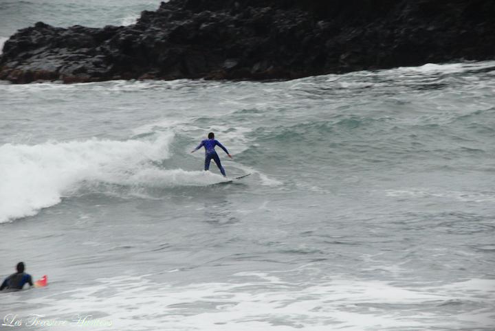 Surf à Madère.