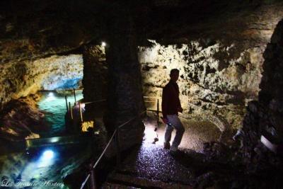 Visite des grottes de Sao Vicente, Madère