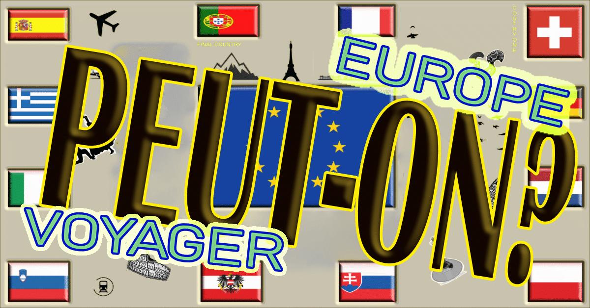 voyager en europe corona