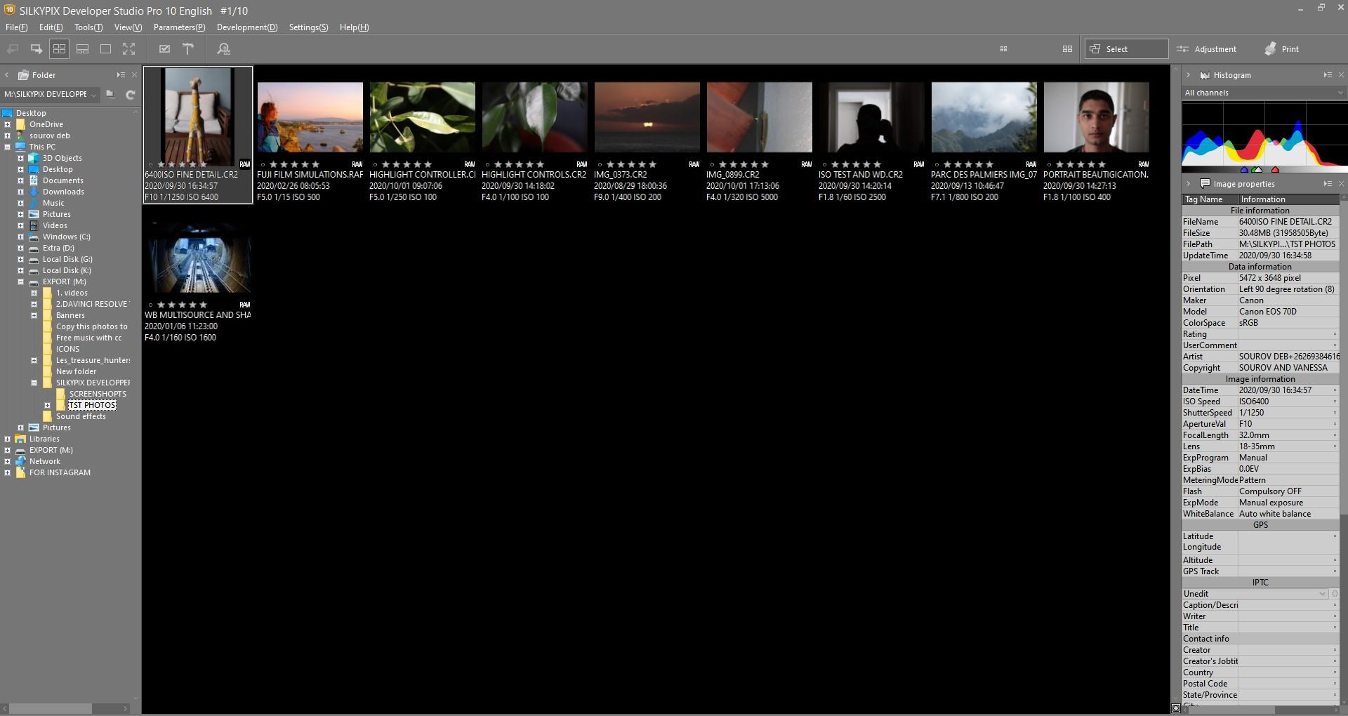 最高の写真編集ソフトウェアの名前はSilkypixDeveloper Studio Pro10です。