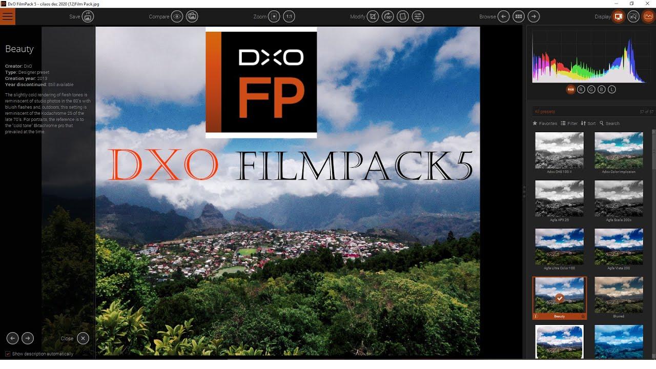DxO Filmpack 5 2021