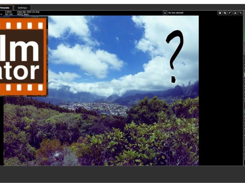Filmulator Open Source Software